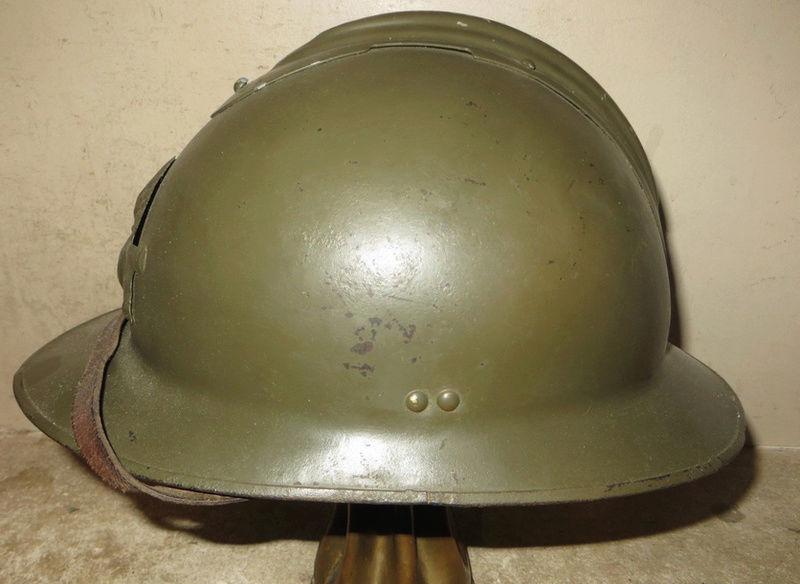 Casque Adrien Artillerie WW2 Questions Addd11