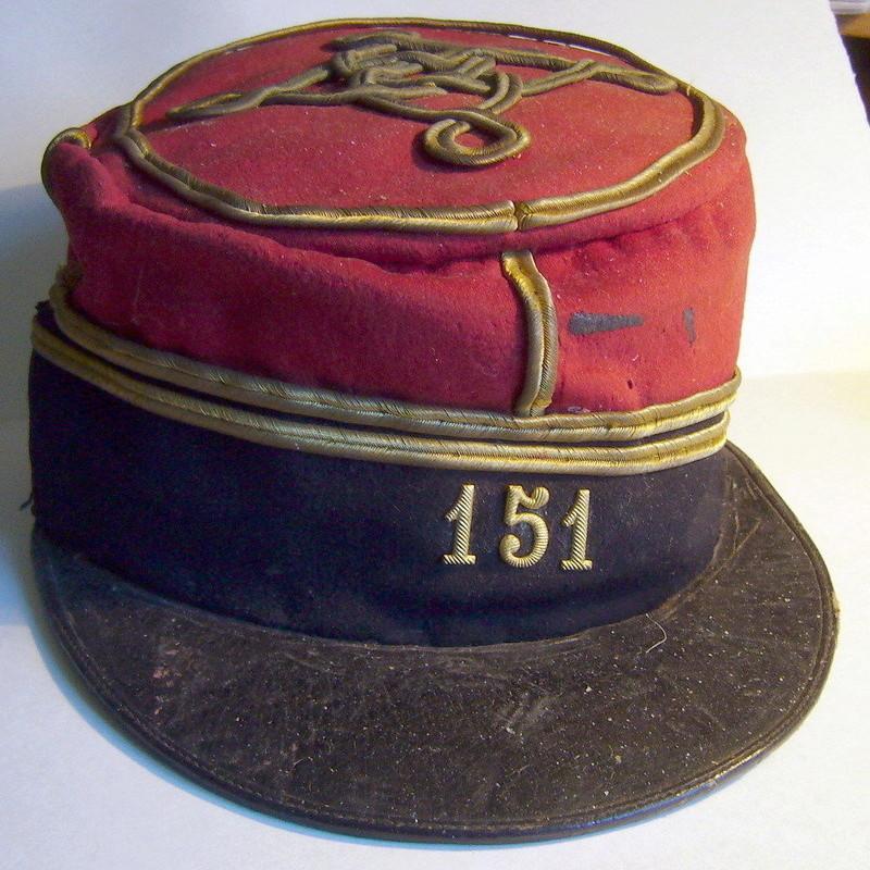 Képi Polo d'officier 151 RI début 1914 ? Kepi_i12