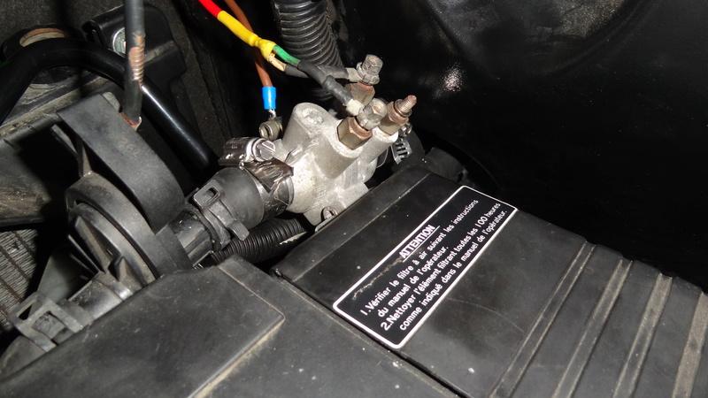 Modification ajout d'un réchauffeur liquide de refroidissement chauffage vsp Dsc07111