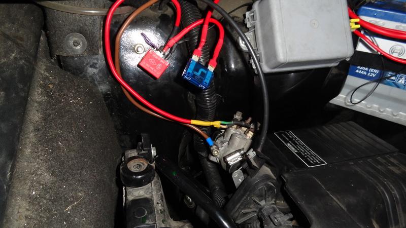 Modification ajout d'un réchauffeur liquide de refroidissement chauffage vsp Dsc07112