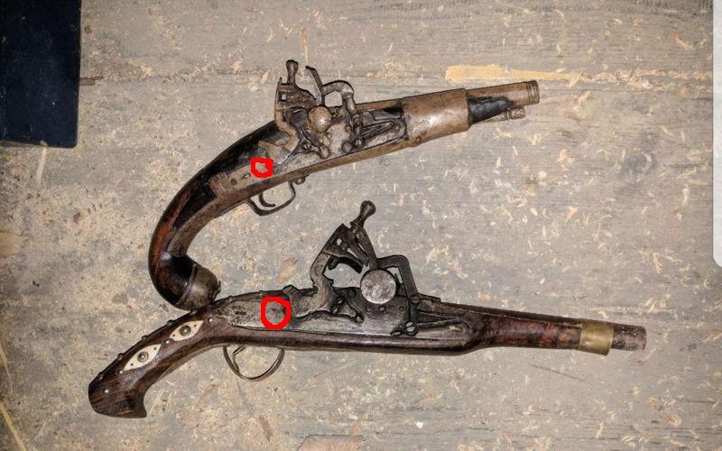 Pistolet ancien vrai ou faux  20180313