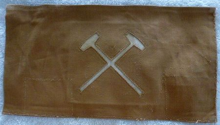 Patch US WWI rectangulaire. 1899 & 1902 Infantry/Artillery Mechanic Insignia 22602_10
