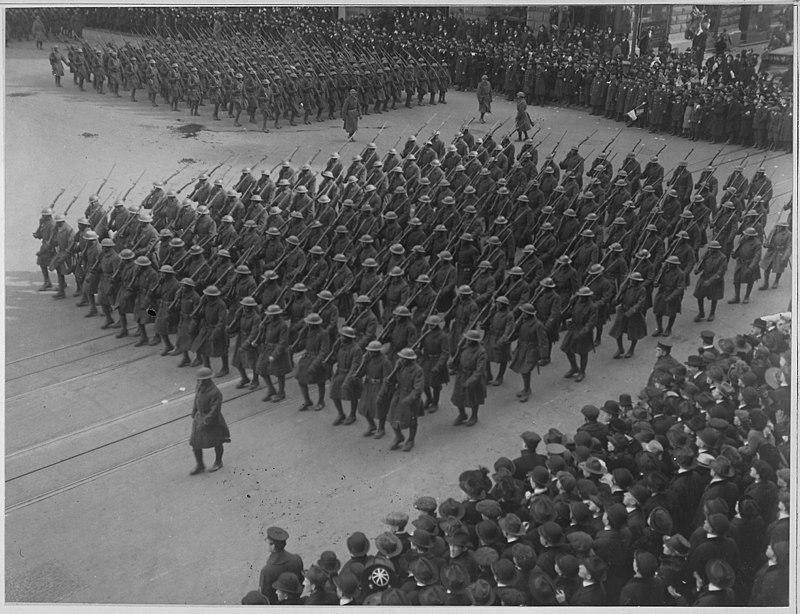 Les noirs dans l'armée américaine en 1917, replay France Ô. 800px-11