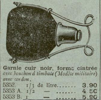 Ces objets civils ou récents que l'on croit être militaires ou anciens. Gourde11
