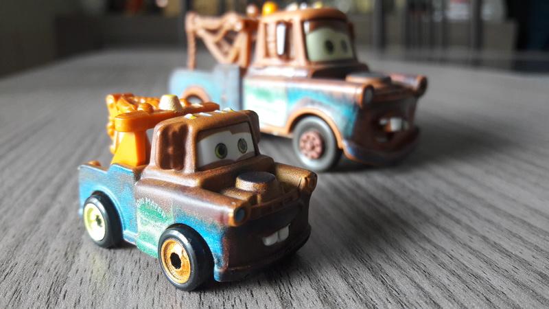"""Mini Racers Diecast : """" Le côté Miniature de la Force """" 20171120"""