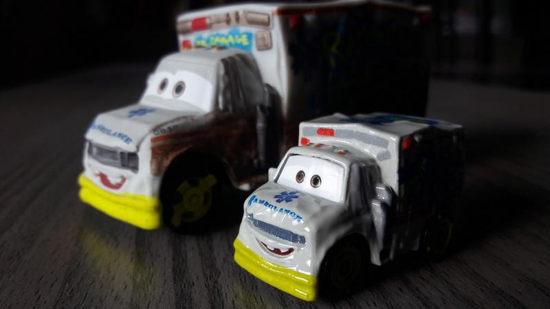 """Mini Racers Diecast : """" Le côté Miniature de la Force """" 20171128"""