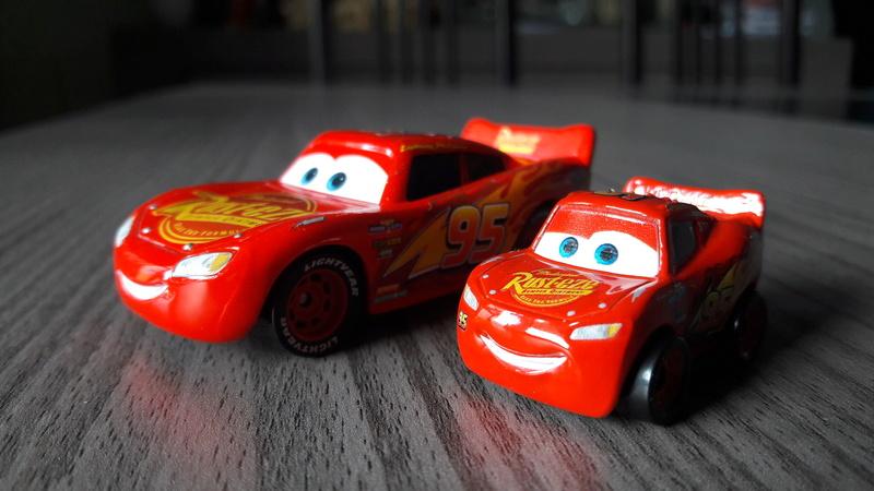 """Mini Racers Diecast : """" Le côté Miniature de la Force """" 20171129"""