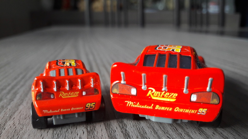 """Mini Racers Diecast : """" Le côté Miniature de la Force """" 20171134"""
