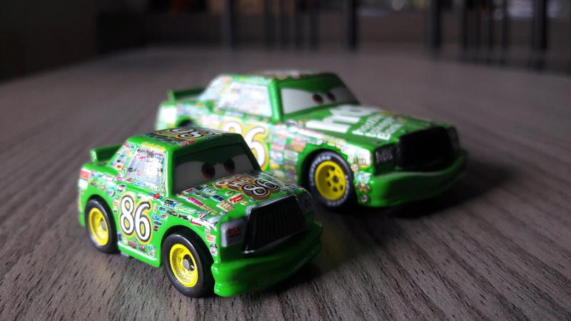 """Mini Racers Diecast : """" Le côté Miniature de la Force """" 20171138"""