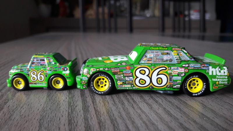 """Mini Racers Diecast : """" Le côté Miniature de la Force """" 20171143"""