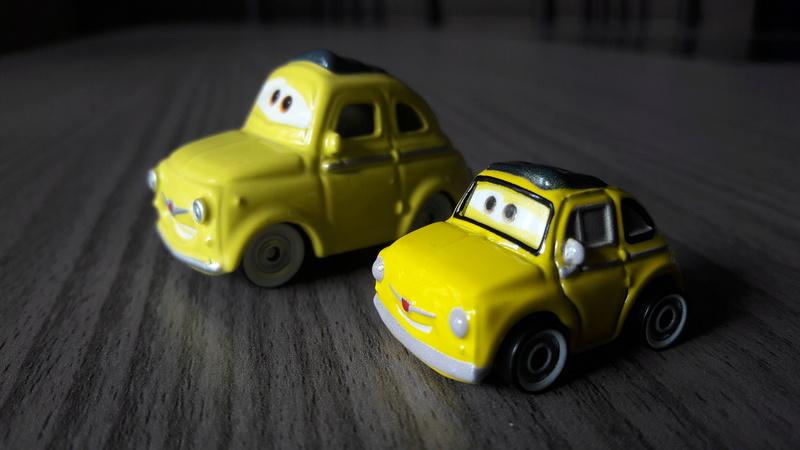 """Mini Racers Diecast : """" Le côté Miniature de la Force """" 20171145"""
