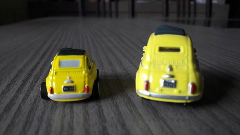 """Mini Racers Diecast : """" Le côté Miniature de la Force """" 20171146"""