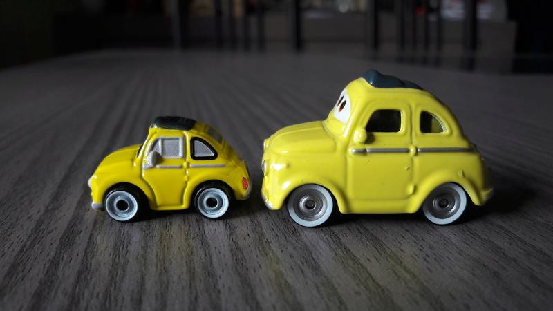 """Mini Racers Diecast : """" Le côté Miniature de la Force """" 20171149"""
