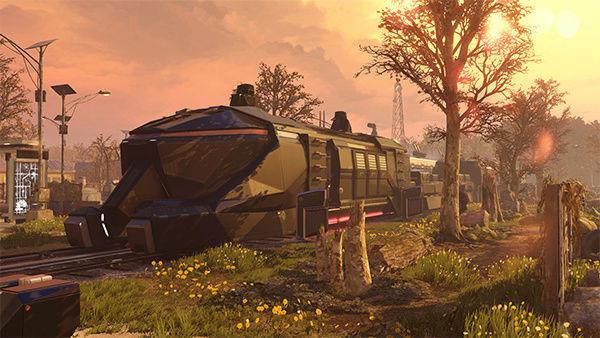 Athena-L, la ciudad de los sueños Tren10