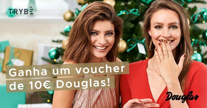 Amostras Trybe - Vale de 10 Euros para Douglas!  Dougla10