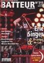 Eric Singer en couverture de batteur magazine 22886010
