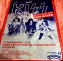KISS AVIGNON 1980 ( Photos ) Affich14