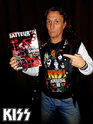 Eric Singer en couverture de batteur magazine Dscn0710