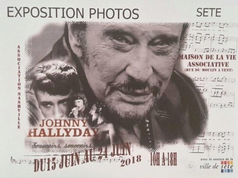 Exposition Photos de Johnny à Sète 30412410