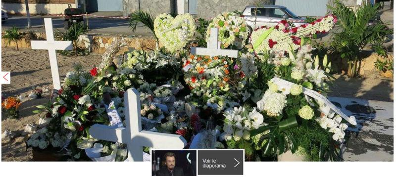 Les riverains du cimetière de St-Barth gênés par les fans de Johnny Captu114