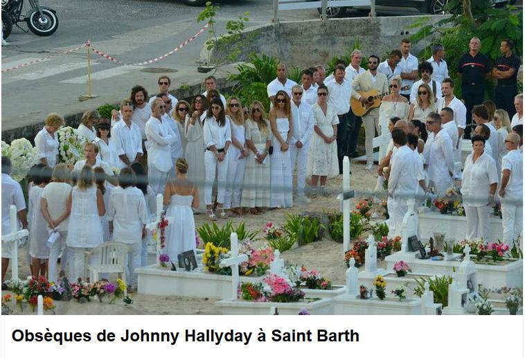 Enterrement de Johnny Hallyday : le chanteur a été inhumé Captur88