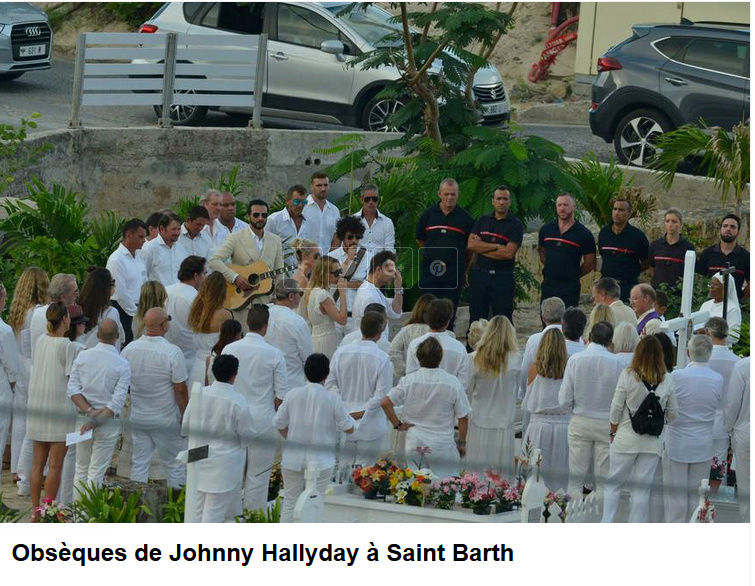 Enterrement de Johnny Hallyday : le chanteur a été inhumé Captur89
