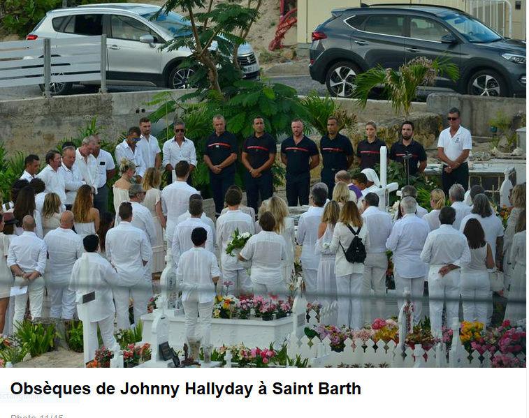 Enterrement de Johnny Hallyday : le chanteur a été inhumé Captur91