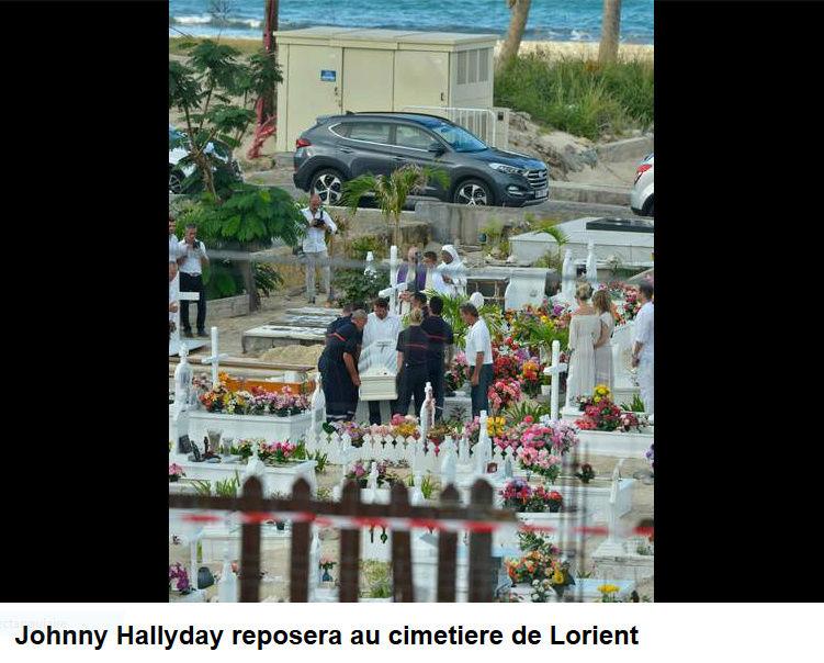 Enterrement de Johnny Hallyday : le chanteur a été inhumé Captur93