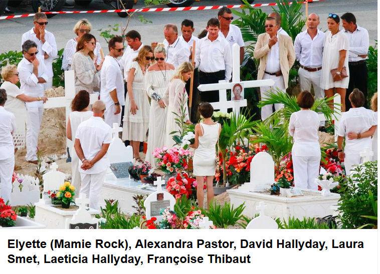 Enterrement de Johnny Hallyday : le chanteur a été inhumé Captur95