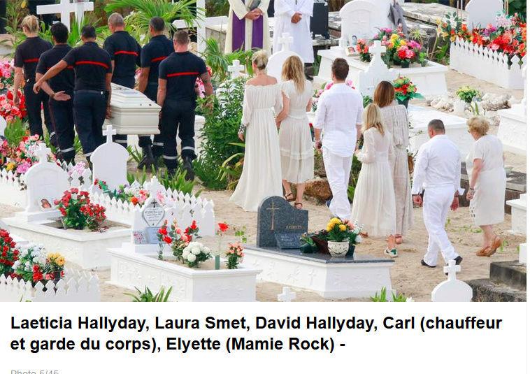 Enterrement de Johnny Hallyday : le chanteur a été inhumé Captur96