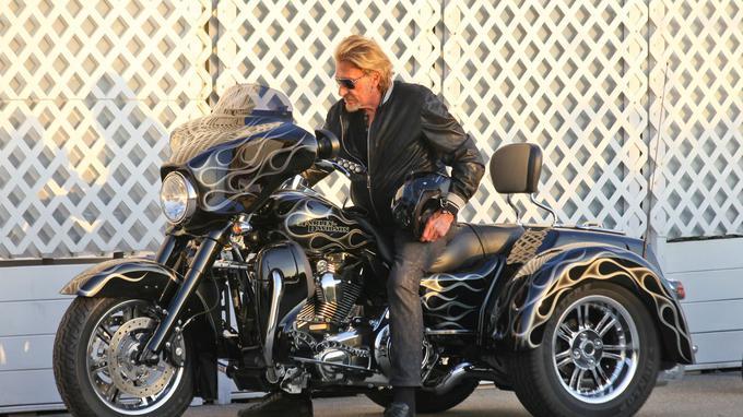 Offrez-vous la mythique Harley Davidson de Johnny Hallyday pour 60.000 euros Xvm07310