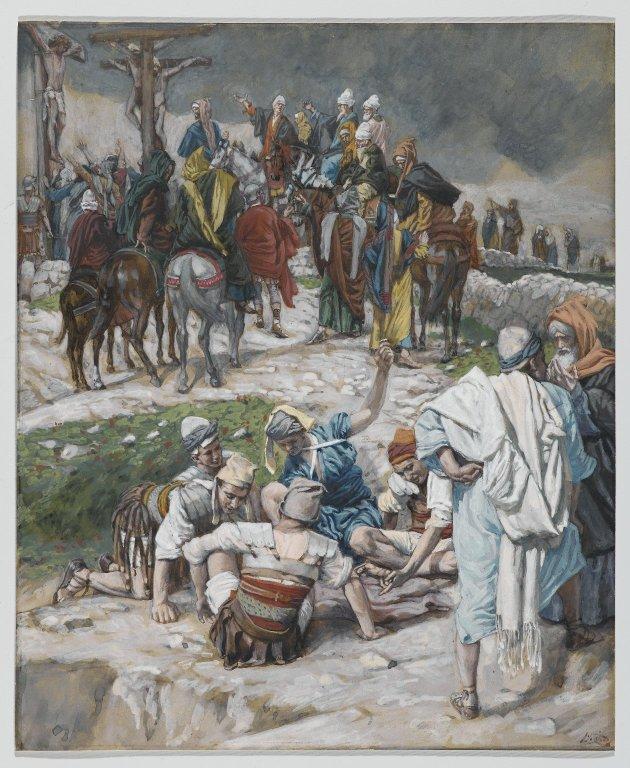 La Passion du Christ selon le peintre Tissot. 00_15914