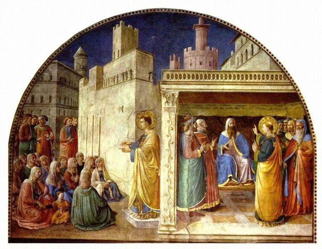 FRA ANGELICO -- Extrait des PAGES D'ART CHRÉTIEN du Père Abel Fabre. 774pxf10