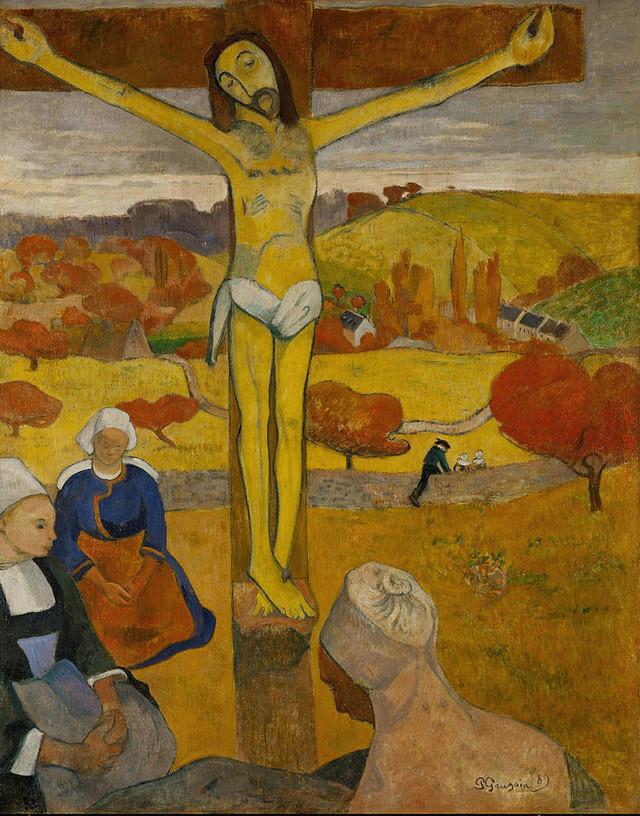 Le CHRIST JAUNE, de Paul GAUGUIN - Le R. P. Raoul Plus, s. j. 800px-11
