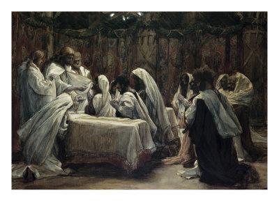 La Passion du Christ selon le peintre Tissot. Commun12