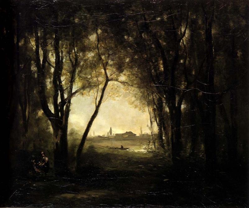 Paysages, tableaux. Corotc11