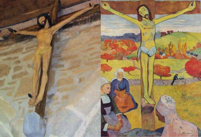Le CHRIST JAUNE, de Paul GAUGUIN - Le R. P. Raoul Plus, s. j. Image013