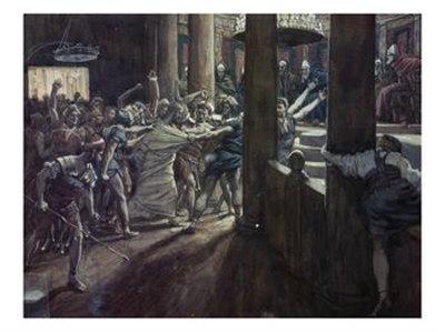 La Passion du Christ selon le peintre Tissot. Jesus-12
