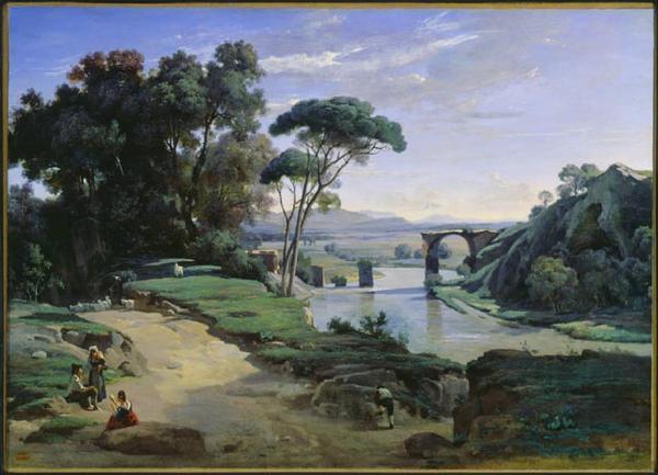 Paysages, tableaux. Le-pon10