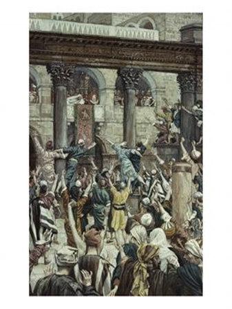 La Passion du Christ selon le peintre Tissot. Let-hi10