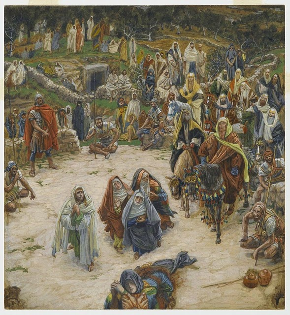 La Passion du Christ selon le peintre Tissot. Lord_s10