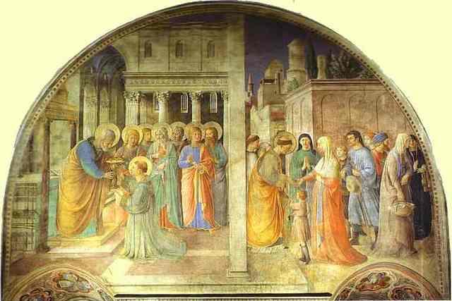 FRA ANGELICO -- Extrait des PAGES D'ART CHRÉTIEN du Père Abel Fabre. Mmmxm210