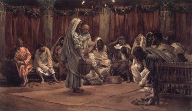 La Passion du Christ selon le peintre Tissot. P_lave11