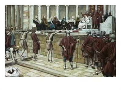 La Passion du Christ selon le peintre Tissot. Pilate10