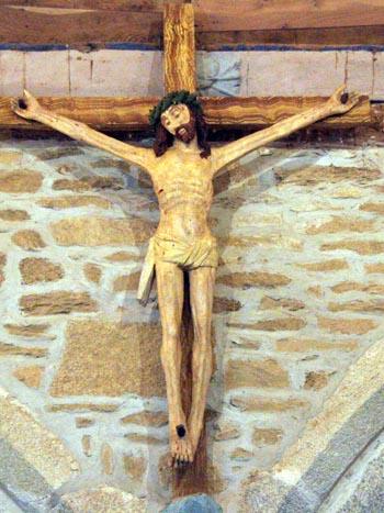 Le CHRIST JAUNE, de Paul GAUGUIN - Le R. P. Raoul Plus, s. j. Pont6610