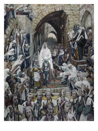 La Passion du Christ selon le peintre Tissot. Proces11