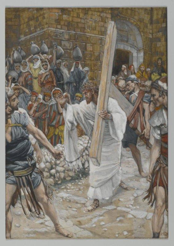 La Passion du Christ selon le peintre Tissot. Q_1610
