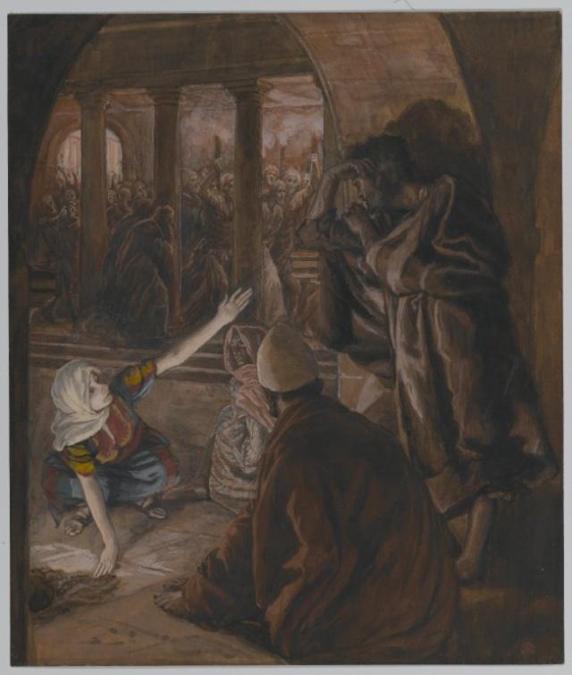 La Passion du Christ selon le peintre Tissot. Q_3iam10