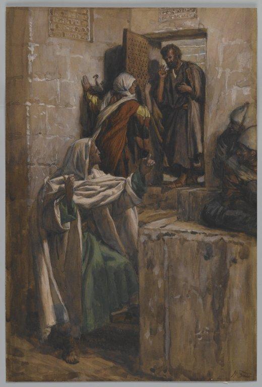 La Passion du Christ selon le peintre Tissot. Q_prem11