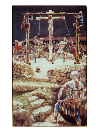 La Passion du Christ selon le peintre Tissot. R_210